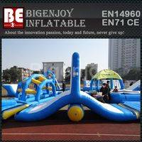 Floating Obstacle Course,Inflatable Water Obstacle Course,Cheap Water Floating Game