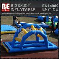 Floating Arch Bridge,Water Obstacle Course Toys,Floating Bridge Obstacle