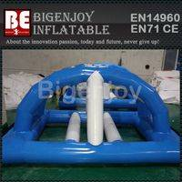 Water bridge,inflatable island float,bridge inflatable float