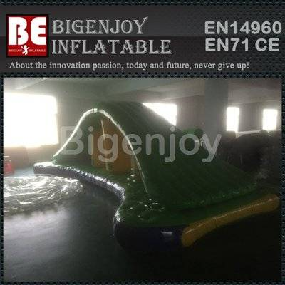 Inflatable water floating high roller for sale
