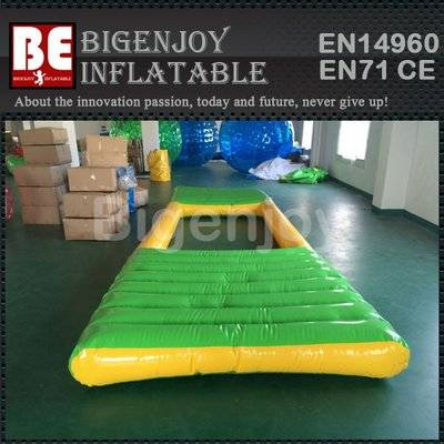 PVC inflatable water float pond play module