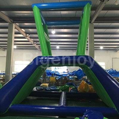 Inflatable action towers water sports