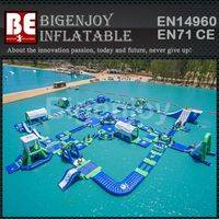 floating water park,swimming pool park,Inflatable water park
