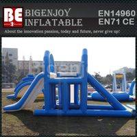 Aqua Floating Island,Climbing Tower Slide,Aqua Climbing Slide