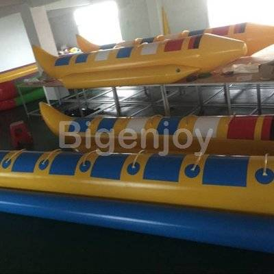Ocean Inflatable Float Water Banana Boat With 2 Tubes