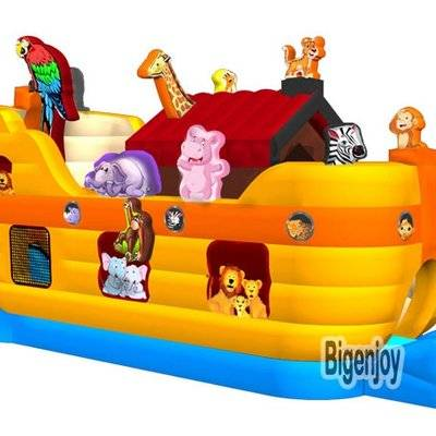 Juegos inflables noahs ark inflatable obstacle course