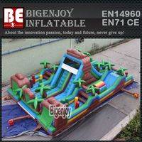 Inflatable Jungle Forest,Inflatable Obstacle Course,Jungle Forest Obstacle