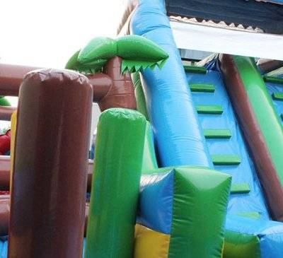 Inflatable Jungle Forest Obstacle Course