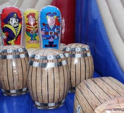 Funny pirate inflatable amusement equipment
