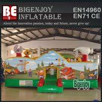 Inflatable Fun City,Little Builders Inflatable ,Toddler Zone Fun City
