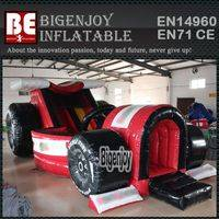 Car inflatable slide,Formula 1 inflatable,Race Car inflatable