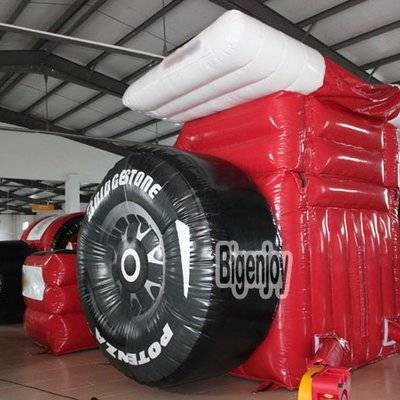 Formula 1 Race Car inflatable slide