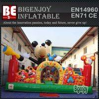 Mickey mouse playground,inflatable amusement park,Mickey inflatable park