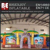 inflatable amusement park,Dora adventure inflatable,adventure inflatable park