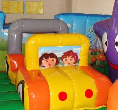 Dora adventure inflatable amusement park