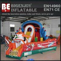Giant inflatable airplane,airplane amusement park,inflatable airplane park