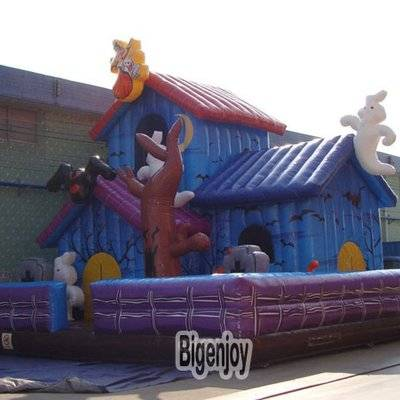 Haunted House inflatable jumping bouncer