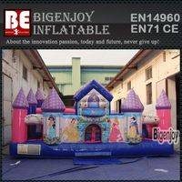 Inflatable princess bouncy,Inflatable playground,princess bouncy playground