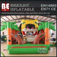 inflatable Bounce House,inflatable Tiger Mouth,Tiger Mouth Bounce House