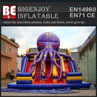 Inflatable slide,Octopus Inflatable slide,pirate Inflatable slide