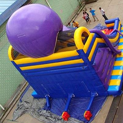 Octopus pirate Commercial Inflatable slide