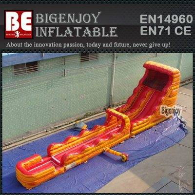 Commercail gaint inflatable water slide combination for adult
