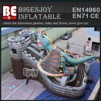 Inflatable dragon attack,Inflatable jumping slide,dragon attack jumping slide