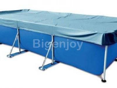 Large inflatable mental frame swimming pool