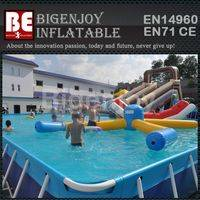 Inflatable large water park,bracket frame pool,water park frame pool