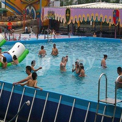 Inflatable Water Park Swimming Frame Pool