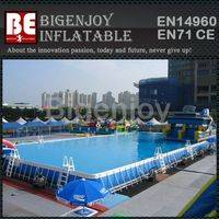 Easy set up pool,folding swimming pool,framed swimming pool