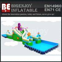 plastic frame swimming pool,Amusement water park,water park plastic frame pool