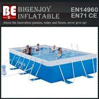 Removable swimming pool,metal frame pool,swimming pool