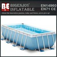 above ground swimming pools,Outdoor folding pools,steel bracket pools