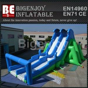 Giant Insane Inflatable 5K slide