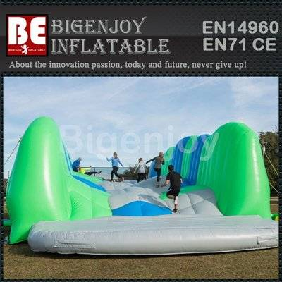 Vinyl Inflatable Obstacle Course Jump Around
