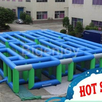 Amusement Park Inflatable Maze for sale