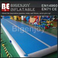DWF inflatable air track,inflatable air gym mat,gym track tumbling mat