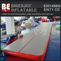 Tumble track inflatable,air mat for gymnastics,inflatable air mat