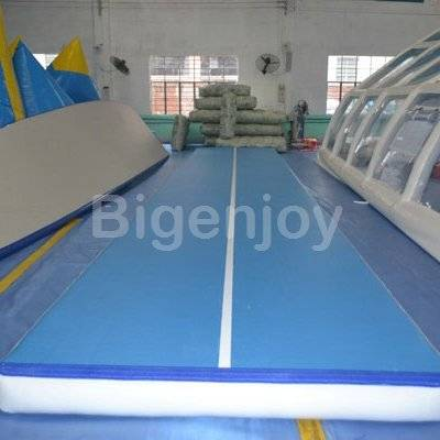 Gymnastics training inflatable air track for sale
