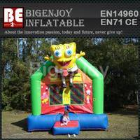 mini bouncer combo,Inflatable spongebob bouncer,Inflatable combo