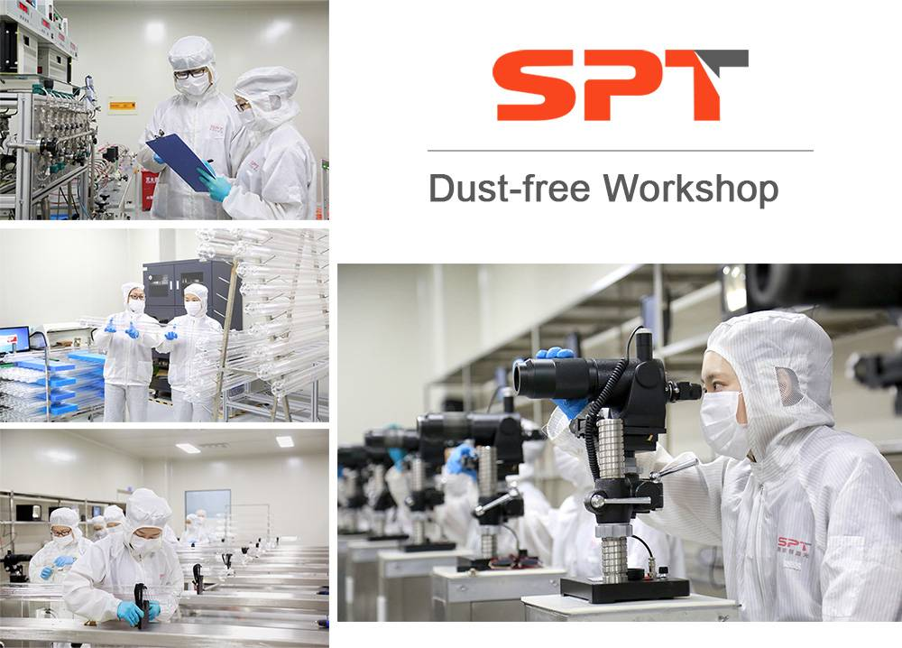spt laser dust-free workshop