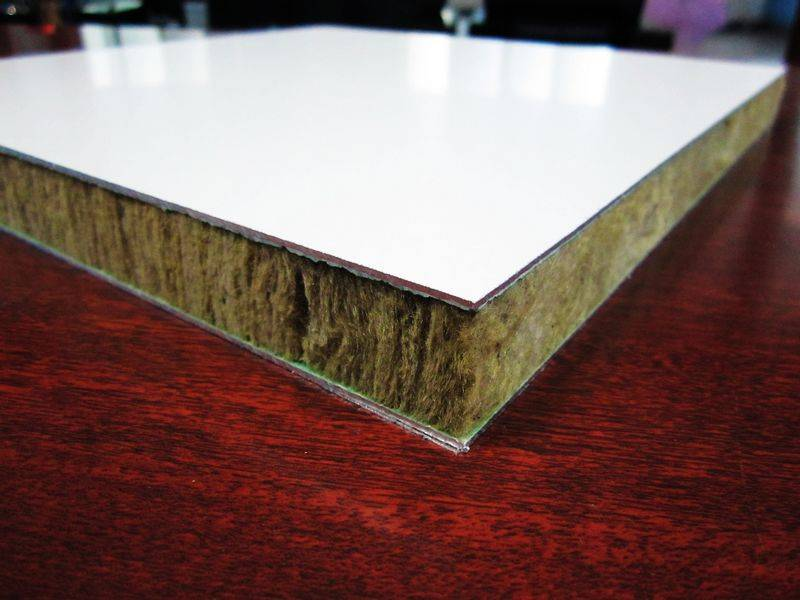 rock wool composite panels, rock wool insulated panels with