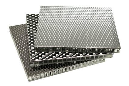 Anti slip aluminum sandwich panels, honeycomb panel sandwich