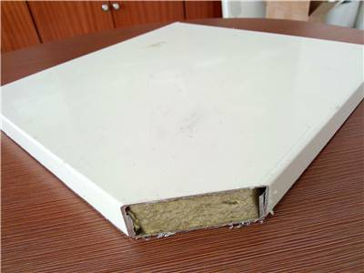 Heat Insulation Rock Wool Sandwich Panels for Mobile House