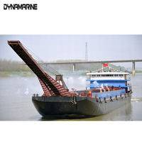 Self-Unloading sand Carrier,deep sea mining equipment,high speed diesel engines,freeboard deck,SELF-UNLOADING CARRIER,Deep Sea Mining Vessel