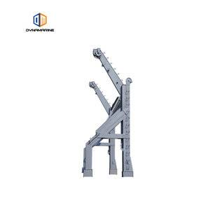 Gravity luffing type davit for sale