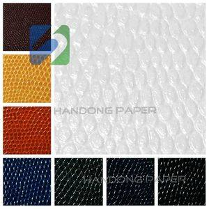 Leatherette paper /Lizard paper/ Good quality  leather paper/PU lizard paper