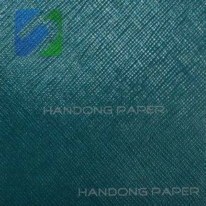 PVC coated paper for bookbinding and covering /specialty paper price