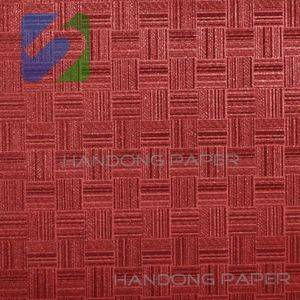 PVC coated paper for book binding and box wrapping/pvc paper supplier